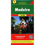 Ed. Freytag & Berndt Madeira Road Map 1:40000