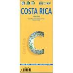 Ed. Borch Costa Rica Map 1:650.000