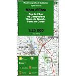 Icc (catalunya) Mora d'Ebre Map 1:25.000
