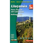 Ed. Alpina Lluçanes Map E-25