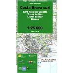 Icc (catalunya) Mapa Costa Brava Sud 1:25000