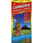 Gecko Maps Mapa Camboya 1:750000