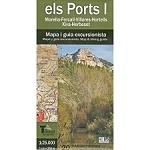 Ed. El Tossal MAPA ELS PORTS I 1/25000 MORELLA-HERBESE