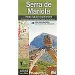 Ed. El Tossal MAPA SERRA DE MARIOLA 1:25000