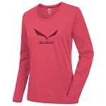 Salewa Solidlogo 2 Co L/S Tee W