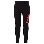 The North Face Cotton Blend Legging Big Logo Girl