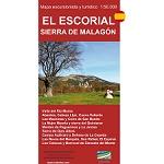 Ed. Calecha Mapa El Escorial, Sierra Malagón