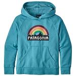 Patagonia Lw Fitz Roy Rainbow Hoody Sweat Jr