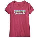Patagonia Pastel P-6 Logo Organic Tee Jr