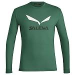 Salewa Solidlogo Dry L/S Tee
