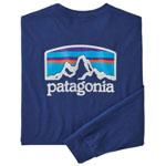 Patagonia Long-Sleeved Fitz Roy Horizons Responsibili-Tee®