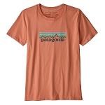 Patagonia Pastel P-6 Logo Organic Cotton Crew T-Shirt W