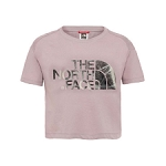 The North Face Cropped SS Tee Girl