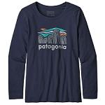 Patagonia Girls L/S Graphic Organic T-Shirt