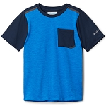 Columbia Tech Trek SS Shirt Boy