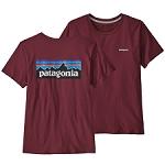 Patagonia P-6 Logo Organic Crew Tee W