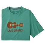 Patagonia Live Simply® Guitar Responsibili-Tee