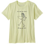 Patagonia Skinny Dip Trip Organic Crew T-Shirt W