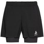 Odlo Zerowight 5 Inch 2-in-1 Running Shorts