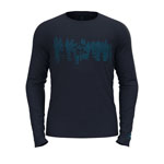 Odlo Concord+ Forest Print T-Shirt L/S Crew Neck