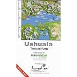 Ed. Aoneker Ushuaia. Tierra de Fuego 1:400000
