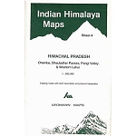Ed. Leomann Maps Pu. Map 4 of Indian Himalaya  - Himachal Pradesh
