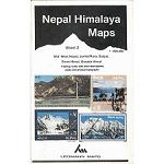 Ed. Leomann Maps Pu. Map 2 of Nepal Himalaya -Mid-West Nepal
