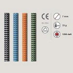 Roca Auxiliary Rope 7 mm (by  metres)