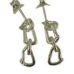 Fixe ANCHOR AND QUICK DRAW EARRINGS
