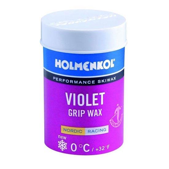 Holmenkol Violet Grip Wax 0ºC -