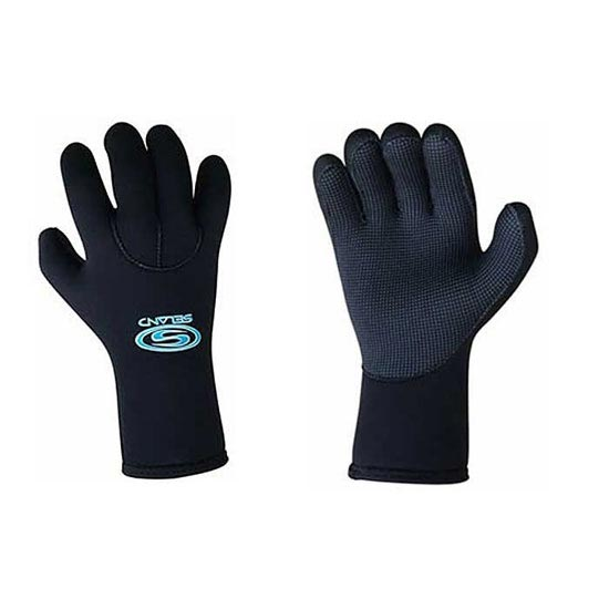 Seland Neoprene Gloves Aguabici 2 mm - Black