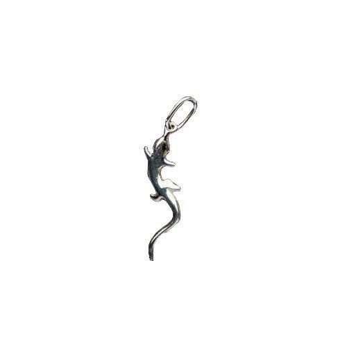 Fixe Silver Lizard Pendant -