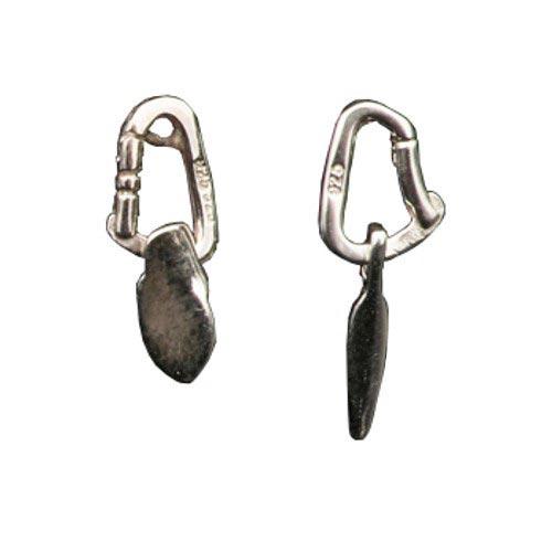 Fixe Boucles d'oreilles en argent -