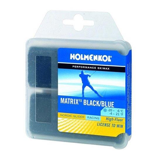 Holmenkol Matrix FX Black/Blue 2x35g -