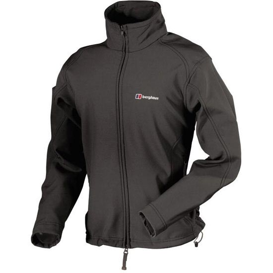 Berghaus Twister Softshell Jacket W - Black /Castle Rock