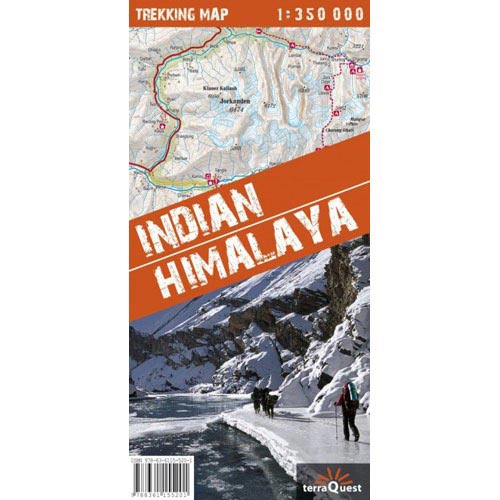 Ed. Terraquest Mapa Indian Himalaya Trekking 1:350000 -