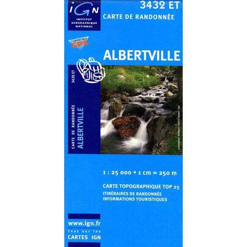 Ed. Ign France Albertville Map -