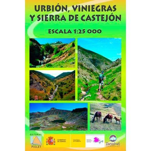 Ed. Piolet Mapa Urbión Viniegras 1:25000 -