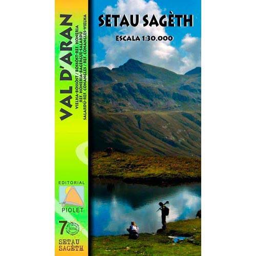 Ed. Piolet Mapa Sageth Arán 1:30000 -