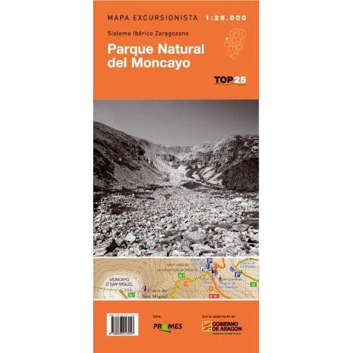 Ed. Prames Mapa Moncayo 1:25000 -