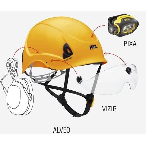 Petzl Alveo Vent - Photo of detail