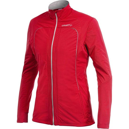 Craft Performance XC Storm Jacket W - Bright red