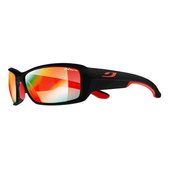 Julbo Run Zebra Light Fire - Matt Black/Red