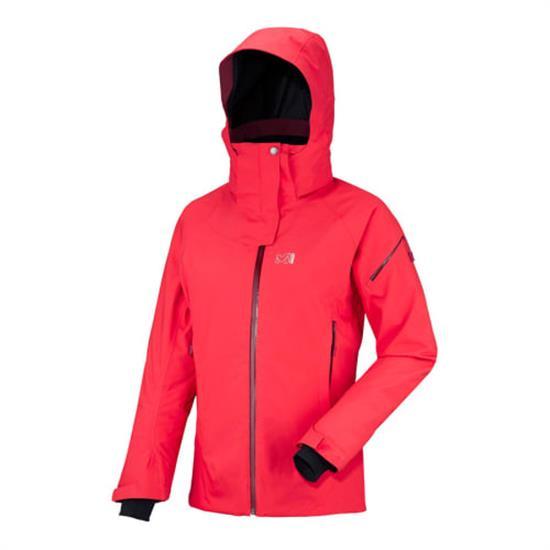 Millet Whistler Stretch Jacket W - Hibis/Velvet Red
