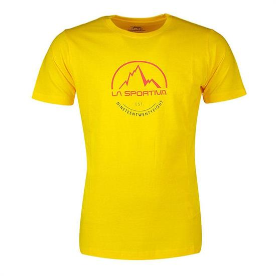 La Sportiva Logo Tee - Yellow
