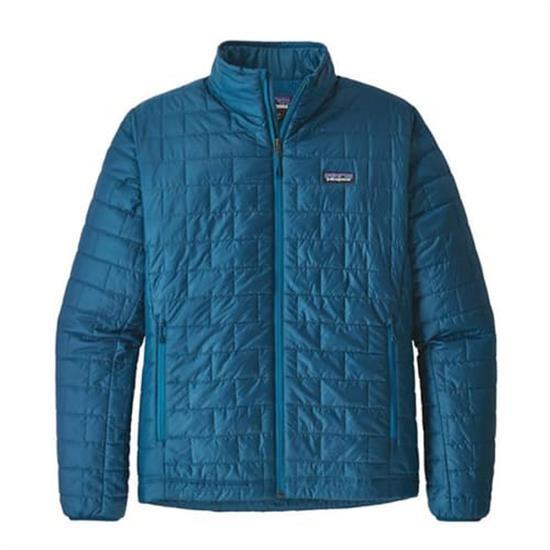 Patagonia Nano Puff Jacket - Big Sur Blue W/balkan