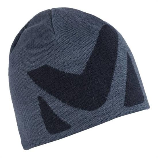 Millet Logo Beanie - Teal Blue/Ink