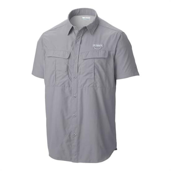 Columbia Cascades Explorer S/S Shirt - Columbia Grey