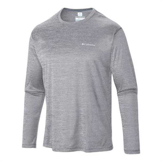 Columbia Zero Rules L/S Shirt - Columbia Grey Heath