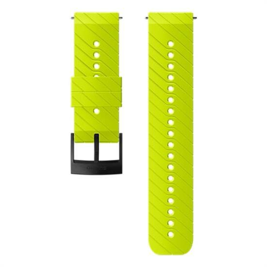 Suunto 24 Mm Ath 3 Silicon Lime Black Strap M -